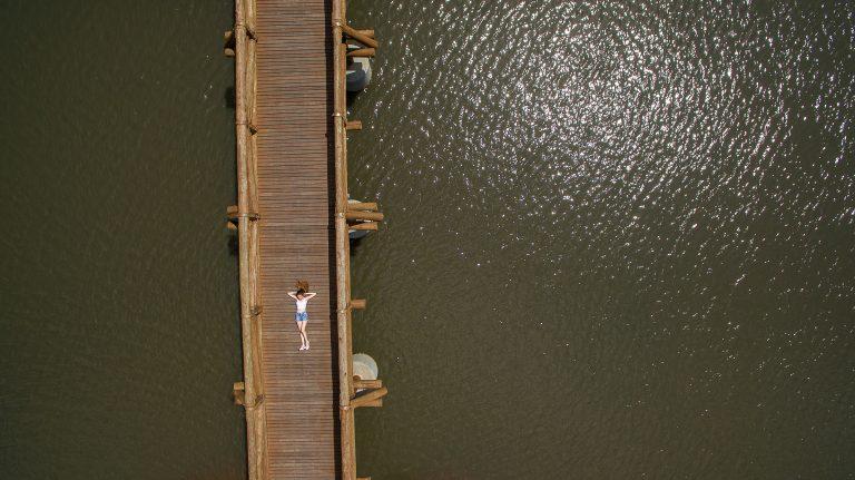 foto aérea drone